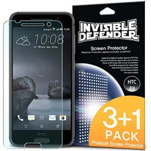 3 pack (plus one extra free) of multi-layered optical enhanced high definition screen protectors for the HTC One A9. Features new 'TouchTech' properties for a natural touch and allows for perfect touch screen precision.