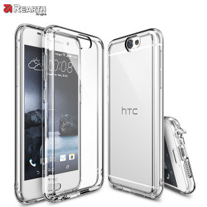 Protect the back and sides of your HTC One A9 with this incredibly durable and crystal backed Fusion Case by Ringke.