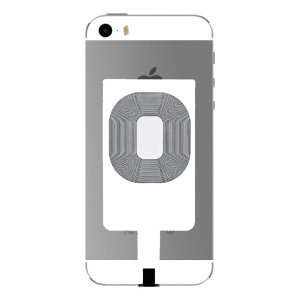 Enable wireless charging for your iPhone 5S / 5 without replacing your back cover or case with this Qi Internal Wireless Charging Adapter from Maxfield.