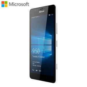 The unlocked Microsoft Lumia 950 in white combines a beautiful 5.2 inch display with a superb 20MP sensor and a dedicated camera button for quick and sharp photos. Coming complete with Liquid cooling, the 950 can push smartphone to the next level.