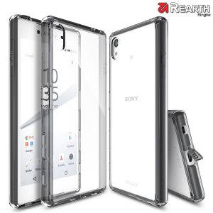 Bescherm de achterkant en zijkanten van je Sony Xperia Z5 Bumper Case met deze ontzettend duurzame en kristalheldere Fusion Case van Ringke.