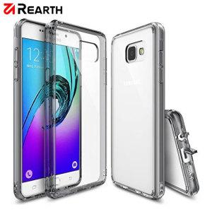 Protégez votre Samsung Galaxy A3 2016 avec cette coque Rearth Ringke Fusion transparente sur le dos afin que vous puissiez conserver le design d'origine du téléphone.