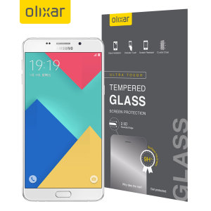 This ultra-thin tempered glass screen protector for the Samsung Galaxy A9 from Olixar offers toughness, high visibility and sensitivity all in one package.