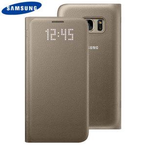 Protégez la face arrière, les côtés ainsi que l'écran de votre Samsung Galaxy S7 tout en gardant un œil sur vos notifications à travers l'écran LED avec cette Flip Wallet Cover (housse portefeuille) officielle Samsung.