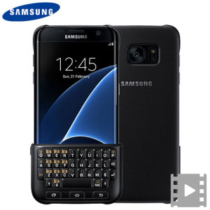 Experience fast and efficient typing with the slim and incredibly protective official black QWERTY keyboard cover from Samsung for the S7 Edge. With no Bluetooth connection or power required, the keyboard case won't drain your batter or require charging.