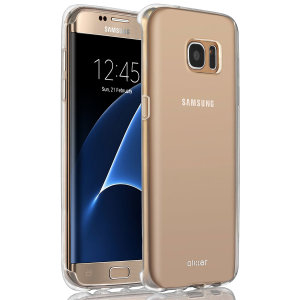 Custom moulded for the Samsung Galaxy S7 Edge, this clear FlexiShield case by Olixar provides slim fitting and durable protection against damage.