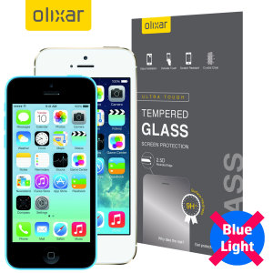 Olixar iPhone 5S/5/5C Anti-Blue Light Tempered Glass Screen Protector