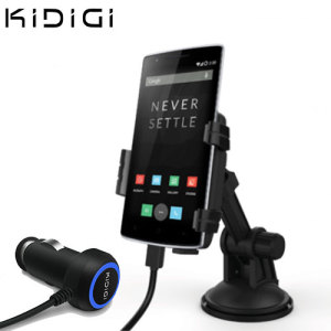 Kidigi Universal USB-C In-Car Mount Cradle & Charger for Smartphones