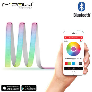 Turn your home into an illuminated masterpiece with the easy to use Playbulb Comet Smart LED strip light from MiPow. Connecting via Bluetooth you can effortlessly change the mood of any room via the accompanying android and iOS app.