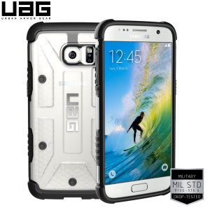 UAG Samsung Galaxy S7 Protective Case - Ice / Black