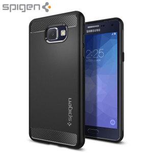 Proporcione un estilo nuevo y una protección extrema a su Samsung Galaxy A5 2016 gracias a esta funda Spigen Ultra Rugged Capsule. Está fabricada de un material denominado TPU, protector, flexible y rugoso para un agarre extra en las manos.