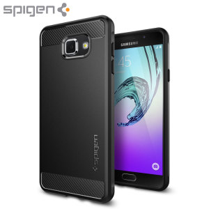 Meet the newly designed rugged case for the Samsung Galaxy A7 2016. Made from a flexible, rugged TPU and featuring a mechanical design, including a carbon fibre texture, the Ultra Rugged capsule in black keeps your phone safe and slim.