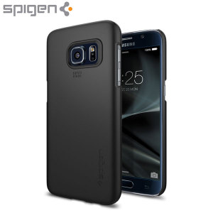Durable and lightweight, the Spigen Thin Fit series for the Samsung Galaxy S7 offers premium protection in a slim, stylish package. Carefully designed the Thin Fit case in smooth black is form-fitted for a perfect fit.