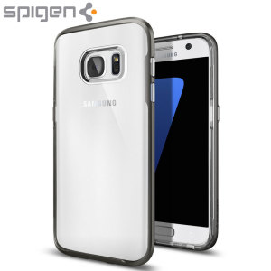 The Spigen Tough Armor in gun metal is the new leader in lightweight protective cases. The new Air Cushion Technology corners reduce the thickness of the case while providing optimal protection for your Samsung Galaxy S7.