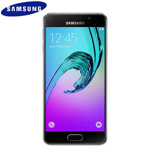 Unlocked 16GB Samsung Galaxy A3 2016 in black. With a 4.7 inch display featuring a 720 x 1280 resolution, 13MP camera and running Android 5.1 - this Samsung smartphone is ready for anything you can throw at it.