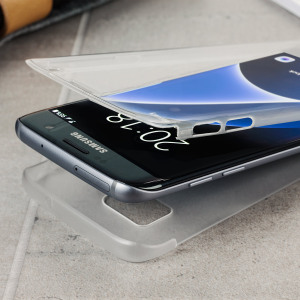 The X-Doria Defense clear case is designed to provide a stylish complement to your Samsung Galaxy S7 Edge. Featuring polycarbonate construction for lightweight yet comprehensive protection for all of your device.