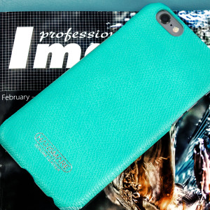 The Hansmare Skin Case in mint is a premium and stylish case for the iPhone 6S / 6. This luxury case is made from genuine leather and offers all round protection for your device.