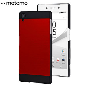 Featuring a premium design, the Ino Metal Case from Motomo in red and black, keeps your Sony Xperia Z5 protected and looking fantastic at all times.