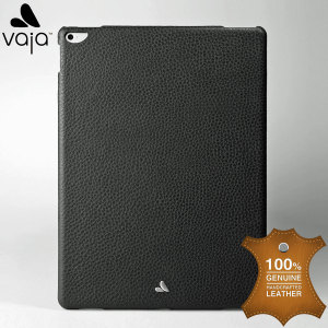 Treat your iPad Pro 12.9 inch to exquisite handmade craftsmanship and the highest quality materials. Featuring genuine Floater leather in black, the Vaja Slim Cover premium leather shell case is something truly special and unique.