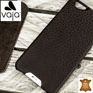 Treat your iPhone 6S Plus / 6 Plus to exquisite handmade craftsmanship and the highest quality materials. Featuring genuine brown Floater and Caterina leather, the Vaja Grip premium leather shell case is something special.