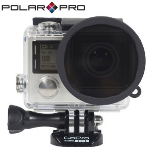 The PolarPro Polarizer filter for the GoPro Hero 4 and 3+ enhances your video by reducing glare from water and snow, while incrasing the colour saturation and contrast for a more vibrant and realistic image.