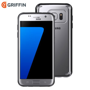 Protect the back and sides of your Samsung S7 with the Griffin Reveal clear/black case. The ultra-thin hard-shell shows off your S7's sleek design, while keeping it safe and protected.