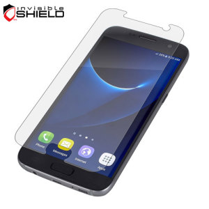 Protect your Samsung Galaxy S7's screen from scratches without suffering the dreaded 'halo effect' with the InvisibleShield Tempered Glass Screen Protector.