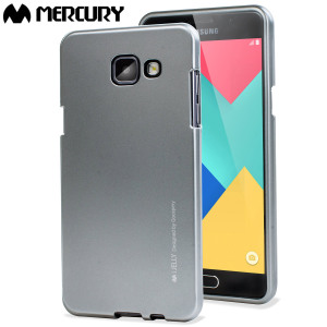 A premium gel case for your Samsung Galaxy A7 2016. The Mercury Goospery features a premium metallic silver gloss UV finish and robust high quality TPU gel material that will take all the knocks and look fabulous while doing so.
