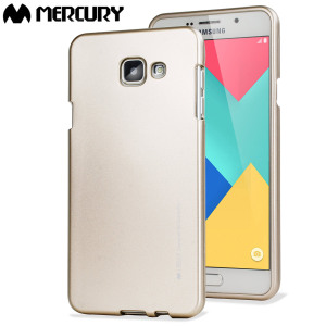 A premium gel case for your Samsung Galaxy A5 2016. The Mercury Goospery iJelly features a premium metallic gold gloss UV finish and robust high quality TPU gel material that will take all the knocks and look fabulous while doing so.