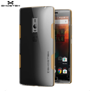 Funda OnePlus 2 Ghostek Cloak - Transparente / Dorada