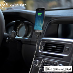 Keep your iPhone or other Lightning device fully charged and ready to go in your car with this secure and flexible charging dock.Twist and position it perfectly for convenient, comfortable viewing view while driving.