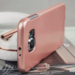 Een premium gel case voor je Samsung Galaxy S6. De Mercury Goospery iJelly beschikt over een prachtige metallic glans UV afwerking en robuuste hoge kwaliteit TPU gel materiaal dat alle stoten op zal vangen en er tegelijkertijd fantastisch uitziet.