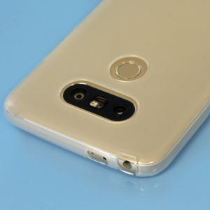 Krystalplastagtig beskyttelse med holdbarheden af et silikoneetui, fremstillet specielt til   LG G5.