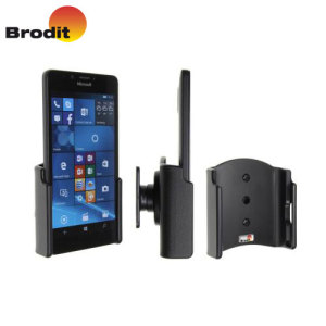 Use your Microsoft Lumia 950 safely in your vehicle with this small, neat and discreet Brodit Passive holder, complete with tilt swivel.