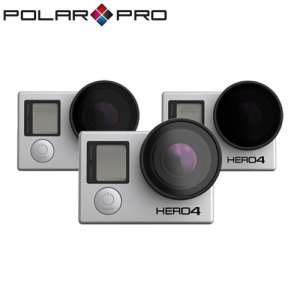Compatible with the GoPro Hero4 / Hero3+ / Hero3 when outside of it's housing, this fantastic 3 pack of slim filters takes your quadcopter footage to a whole new level. This pack includes a Polarizer, 2 stop ND and 3 stop ND filter.