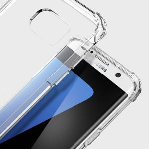Protect the back and sides of your Samsung Galaxy S7 Edge without affecting the dynamics of the design with this clear, Ultra Hybrid case from Spigen.