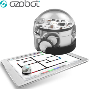 Introducing the Ozobot 2.0 Bit in crystal white, the perfect way to introduce children to computer science, robotics and coding in a fun and imaginative way.