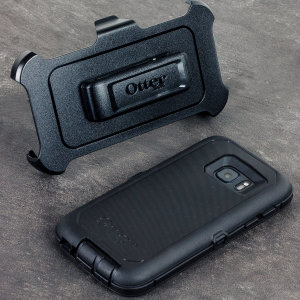 Protect your Samsung Galaxy S7 with the toughest and most protective case on the market - the OtterBox Defender Series in black.