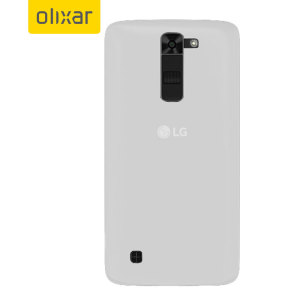 Custom moulded for the LG K7, this frost white FlexiShield gel case provides slim fitting and durable protection against damage. Also compatible with the LG Tribute 5.