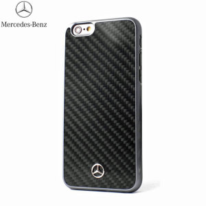 Coque iPhone 6S / 6 Fibre de Carbone Mercedes-Benz