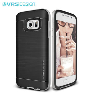 Protect your Samsung Galaxy S7 with this precisely designed high pro shield series case in Steel Silver from VRS Design. Made with tough dual-layered yet slim material, this hardshell body with a sleek bumper features an attractive two-tone finish.