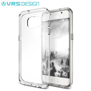 Protect your Samsung Galaxy S7 Edge with this precisely designed case from VRS Design. Made with a sturdy yet minimalist design, this see-through case offers protection for your phone while still revealing the beauty within.