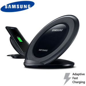 Charge your Samsung Galaxy S8, S8 Plus, S7 Edge, S7 and S6 quickly with the official wireless fast charge stand in black. Allowing you to charge up to 1.4x faster than traditional wireless chargers, this really is the perfect accessory for your new phone.