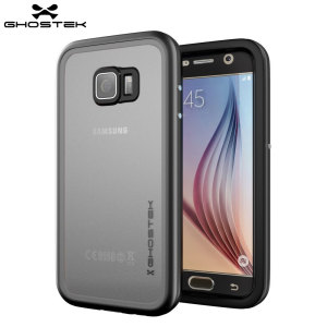 Equip your Samsung Galaxy S6 with the most extreme and durable protection around! The black Ghostek Atomic 2.0 is completely waterproof and provides rugged drop protection with it's HD scratch resistant screen protector, whilst keeping the phone slim.