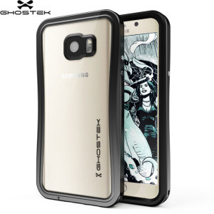 Equip your Samsung Galaxy Note 5 with the most extreme and durable protection around! The black Ghostek Atomic 2.0 is completely waterproof and provides rugged drop protection with it's HD scratch resistant screen protector, whilst keeping the phone slim.
