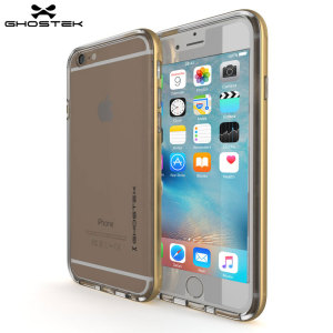 The Cloak Protective case in gold and clear from Ghostek comes complete with a tough tempered glass screen protector to provide your Apple iPhone 6S / 6 with fantastic all round protection.