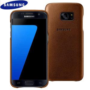 Esta funda oficial de Samsung está fabricada con cuero de alta calidad específicamente para el Galaxy S7. Además de añadir protección también añade calidad y estilo.