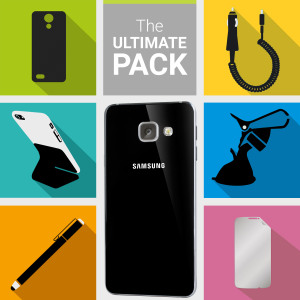 The Ultimate Pack for the Samsung Galaxy A3 2016 consists of fantastic must have accessories designed specifically for the Galaxy A3 2016.