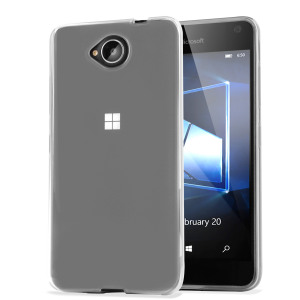 Custom moulded for the Microsoft Lumia 650, this clear Olixar FlexiShield case provides slim fitting and durable protection against damage.