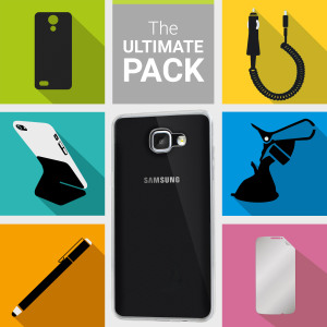 The Ultimate Pack for the Samsung Galaxy A9 2016 consists of fantastic must have accessories designed specifically for the Galaxy A9 2016.